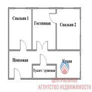 фото 3комн. квартира Новосибирск ул Полярная, д. 68